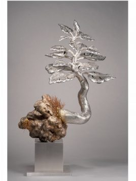 Dhananjay Singh 49 x 30.5 x 18 Inches Stainless Steel & copper wire (Tree) 2020
